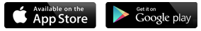 Apple and Google App Store Icons
